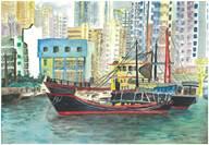特別榮耀獎 作品名稱:海港