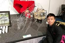 中學生視覺藝術作品展 1819  入圍 作品名稱 : 順鹿